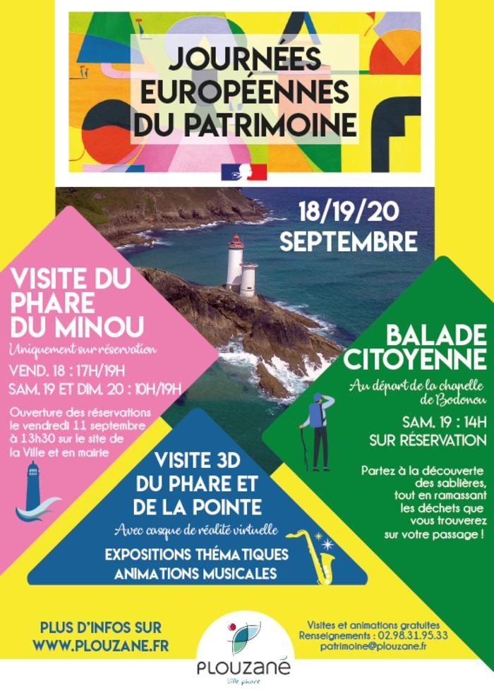 Journées du patrimoine 2020 - Visite du phare du Minou