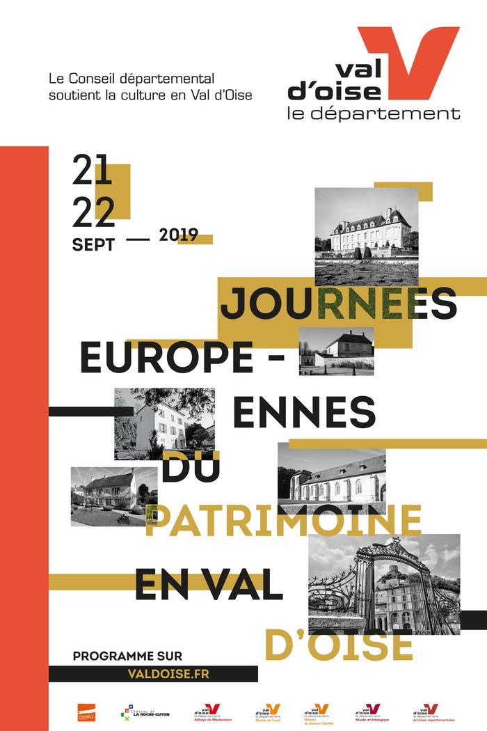 Journées du patrimoine 2019 - Visites guidées des Archives départementales du Val-d'Oise.