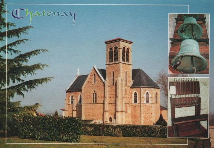 Journées du patrimoine 2020 - Visite guidée de l'église de Châtenay, inscrite au titre des Monuments Historiques