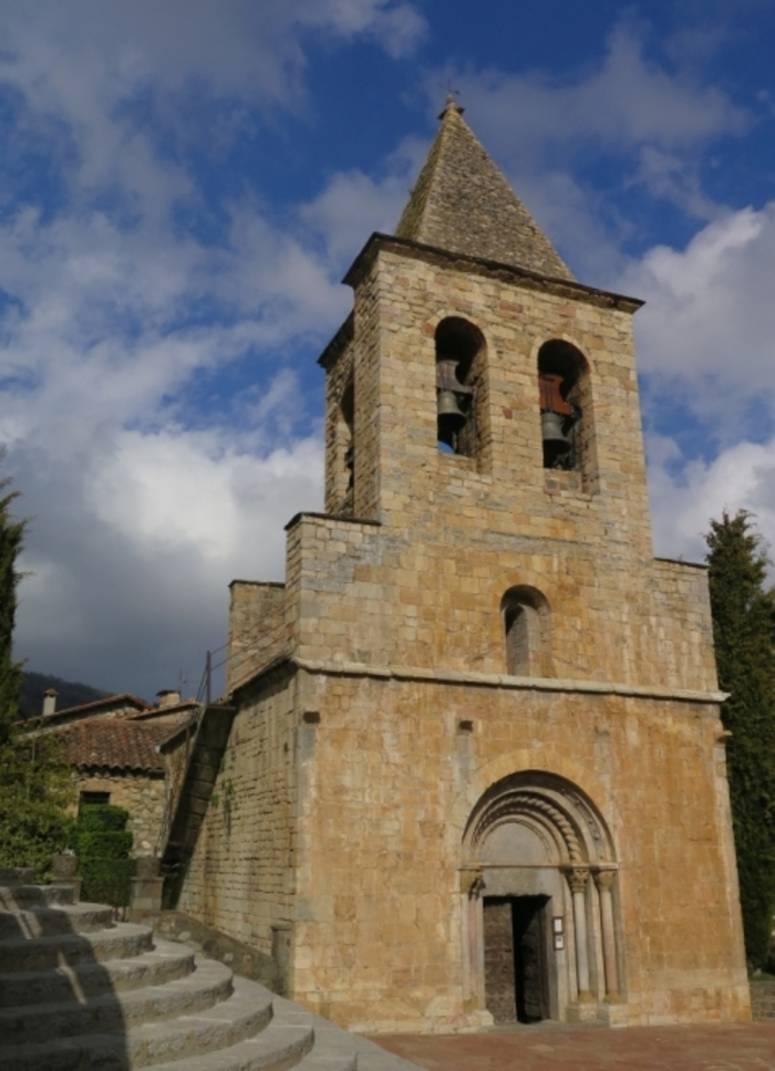 Journées du patrimoine 2019 - Découverte de l'église romane de Llanars (Catalogne)