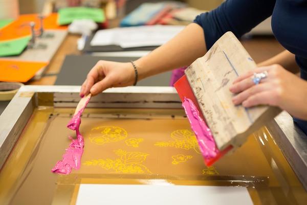 Nuit des musées 2019 -Ateliers sérigraphie