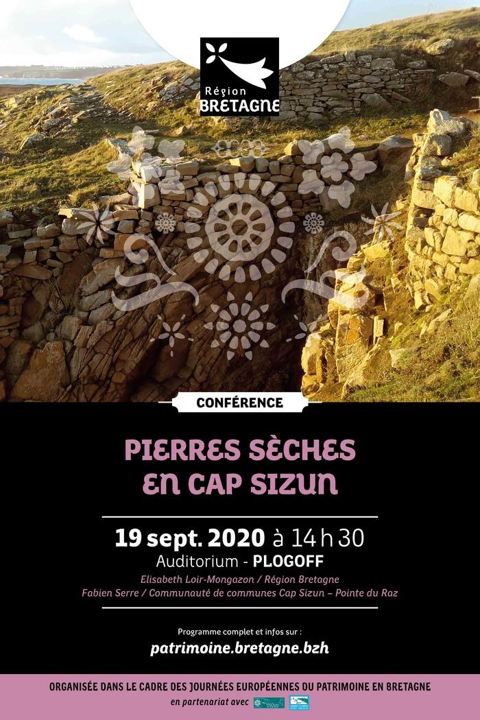 Journées du patrimoine 2020 - Conférence : Pierres sèches en Cap Sizun