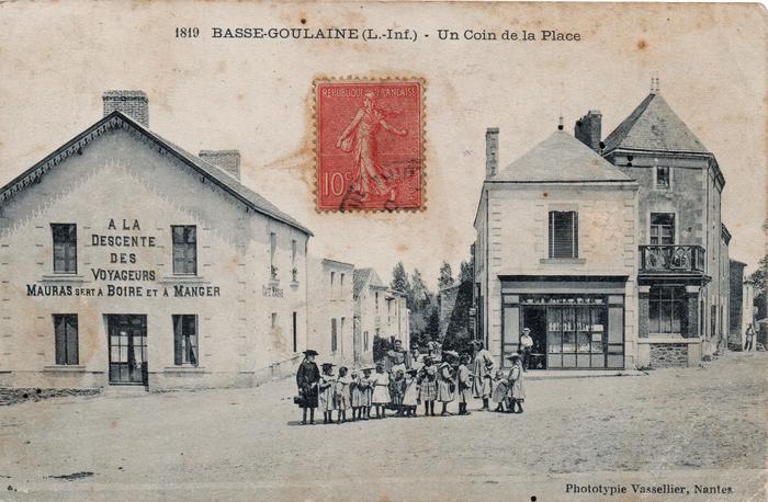 Journées du patrimoine 2019 - Randonnée - Basse-Goulaine dans les années 1900