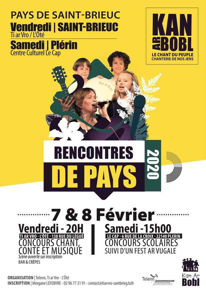 Kan ar Bobl - Rencontre du Pays de Saint-Brieuc - Catégories scolaires