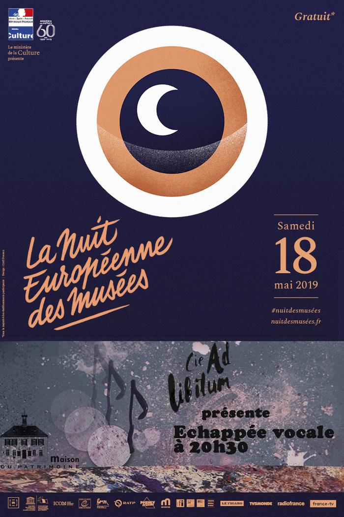 Nuit des musées 2019 -Echappée vocale