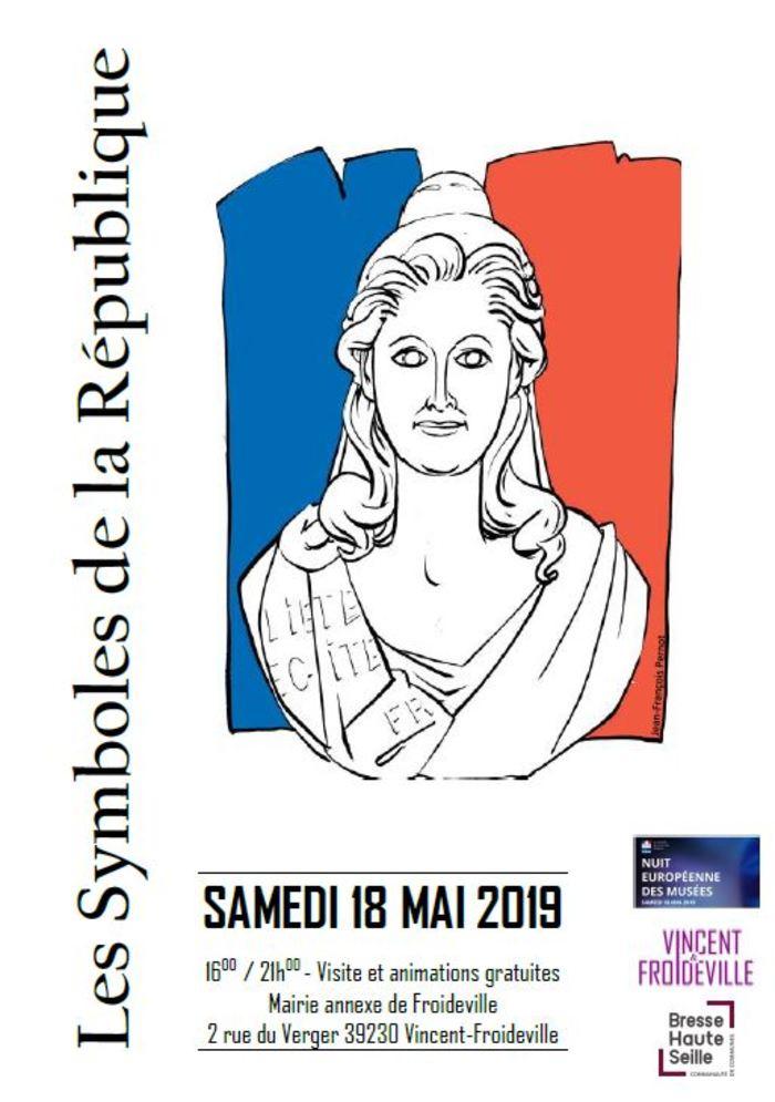 Nuit des musées 2019 -Exposition sur les symboles de la République et l'histoire du suffrage universel en France
