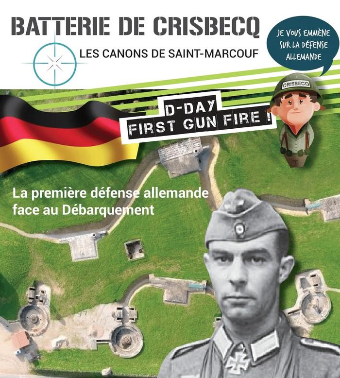 Journées du patrimoine 2020 - Visite libre de la batterie de Crisbecq