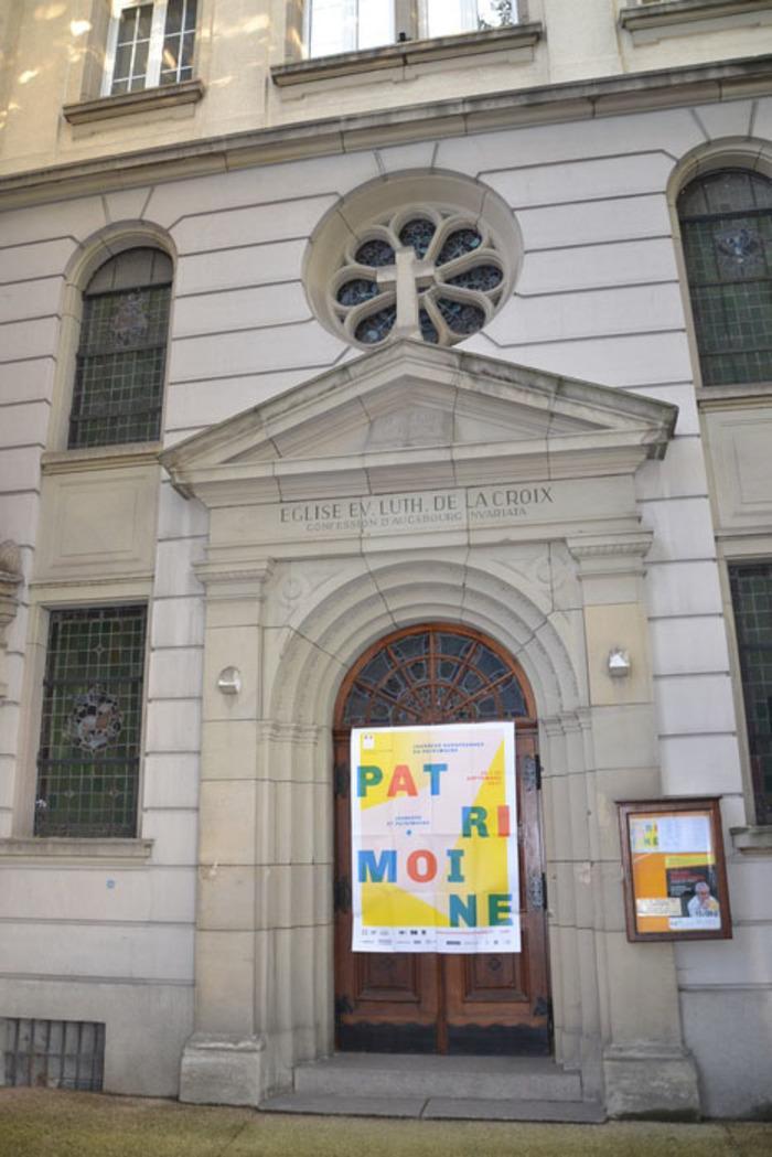 Journées du patrimoine 2020 - Il y a une église place d'Austerlitz ? Qu'y-a-t-il derrière ces portes ?