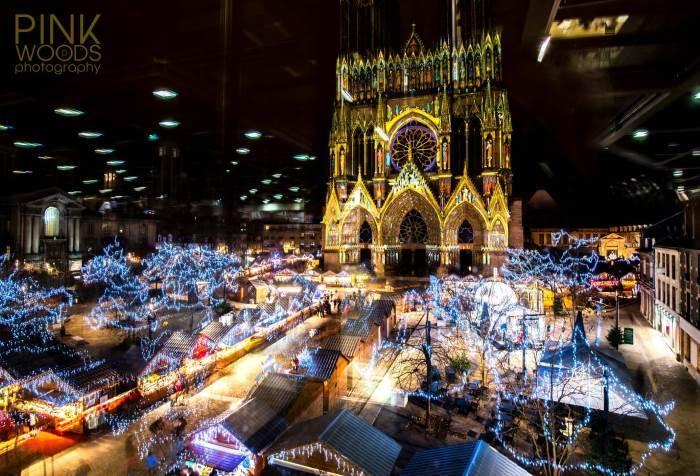 La Champagne en fête et le marché de Noël de Reims