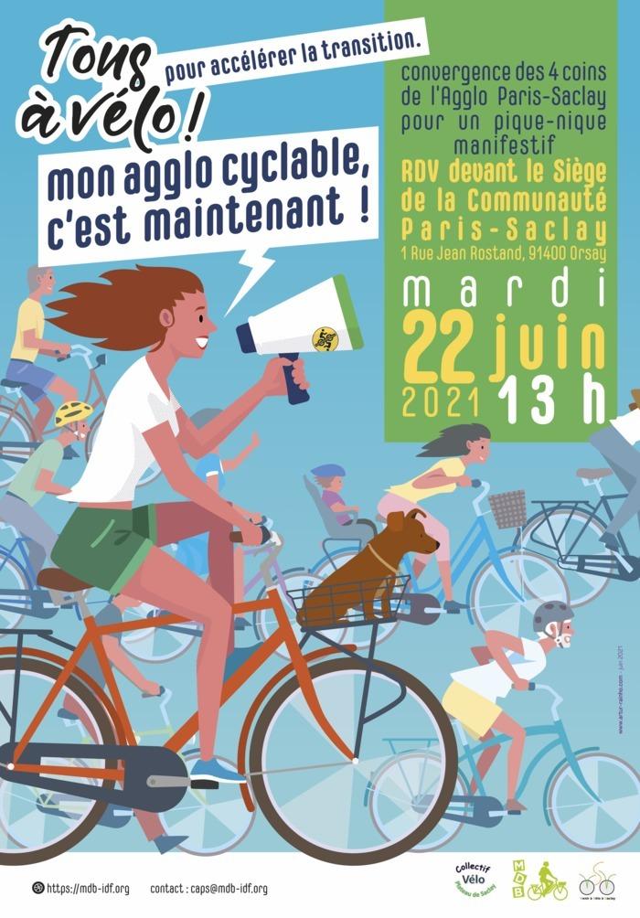 Tous à vélo pour accélérer la transition ! Orsay (91)