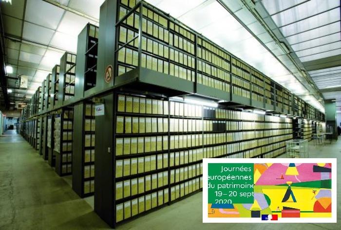 Journées du patrimoine 2020 - Centre des archives de l'armement et du personnel civil
