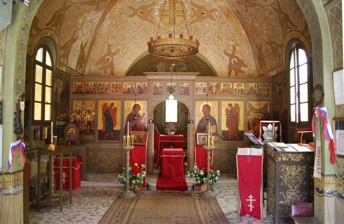 Journées du patrimoine 2019 - Visite libre de la chapelle-mémorial orthodoxe russe