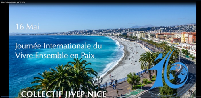 Clip : Collectif JIVEP NICE pour la Journée Internationale du Vivre Ensemble en Paix