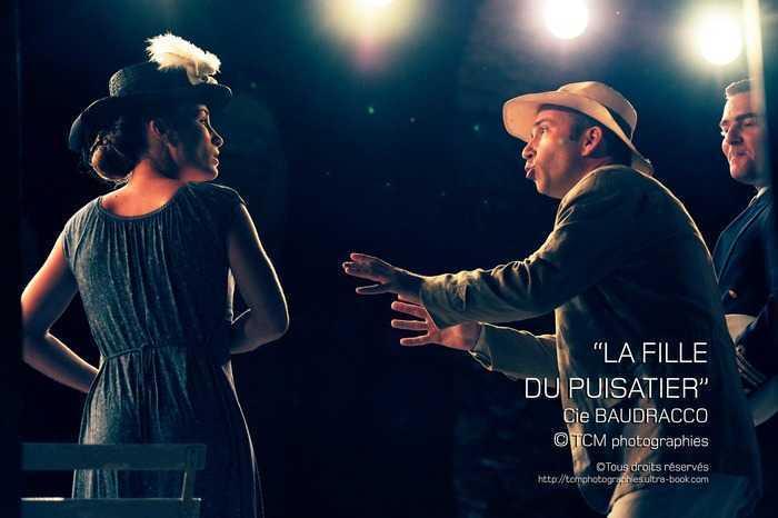 """3ème """"Saison Théâtre des Lices"""" """"La fille du Puisatier"""" par la Cie Baudracco."""