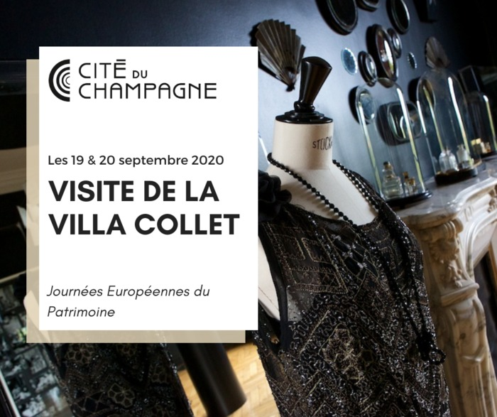 Journées du patrimoine 2020 - Visite de la Villa Collet