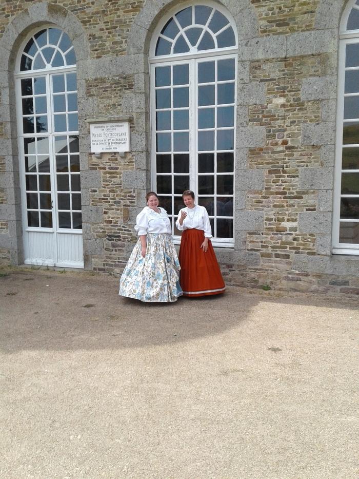 Journées du patrimoine 2019 - Visites guidées en costume d'époque