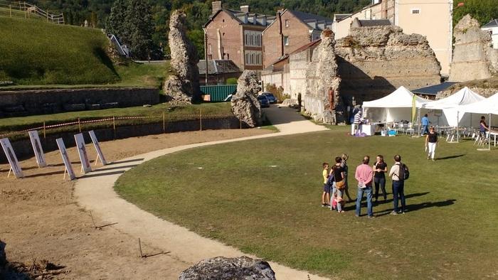 Journées du patrimoine 2020 - Visite libre du théâtre romain de Lillebonne