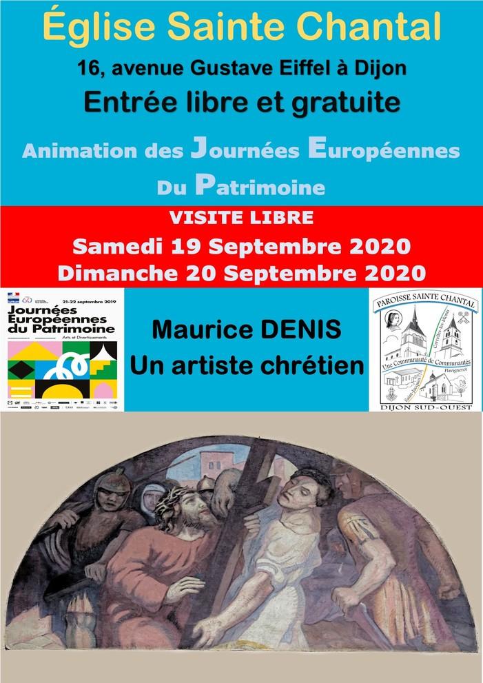 Journées du patrimoine 2020 - Exposition permanente - Maurice DENIS - Ateliers d'Art Sacré