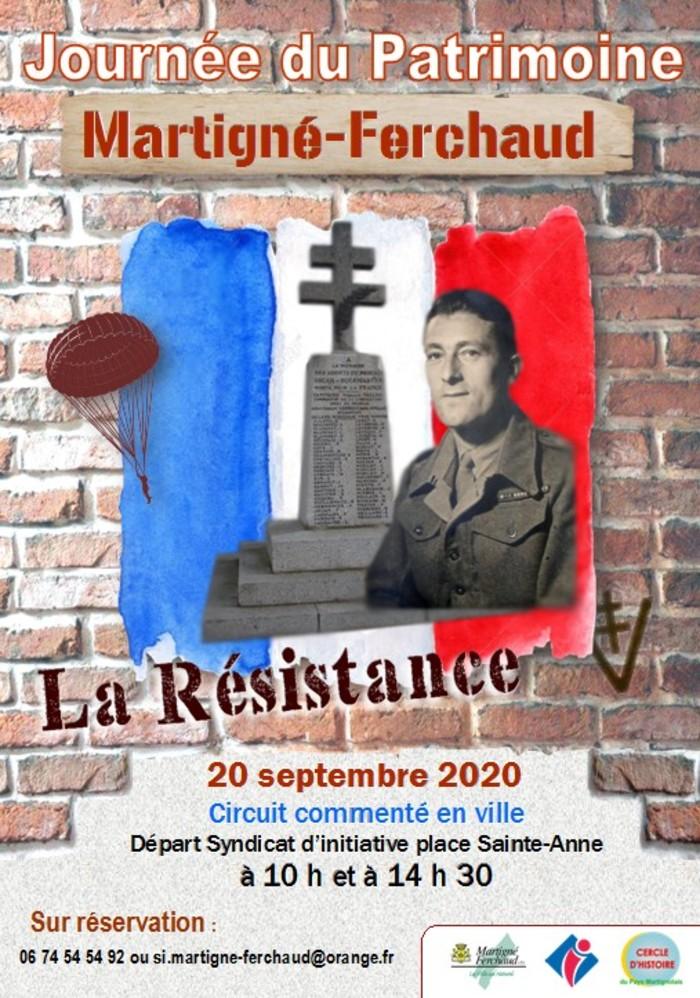 Journées du patrimoine 2020 - La Résistance à Martigné-Ferchaud