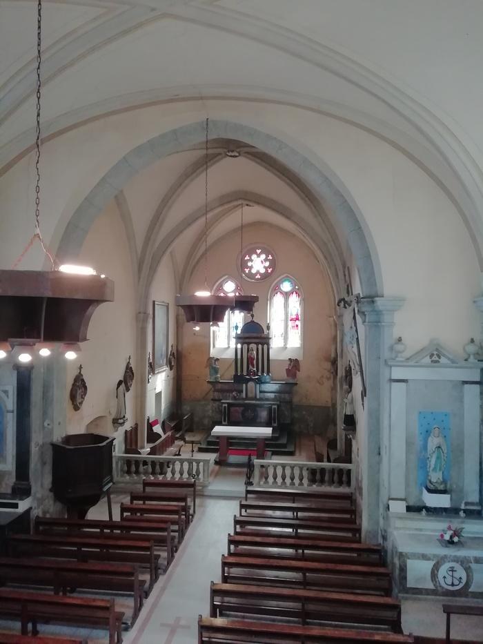 Journées du patrimoine 2020 - Visite libre de l'église paroissiale de Meillerie