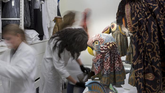 Journées du patrimoine 2019 - Visite guidée des ateliers de conservation du Centre national du costume de scène