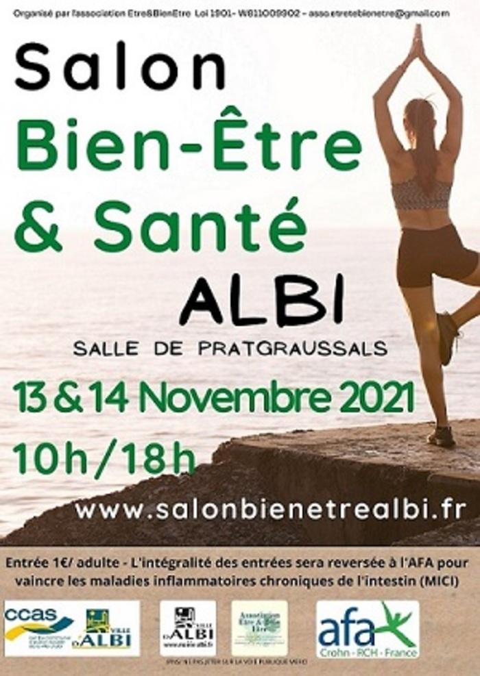 Le premier salon Bien être et santé Albi 2021 aura lieu les 13 & 14 Novembre 2021.