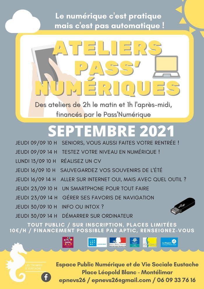 Ateliers Pass Numérique de Septembre