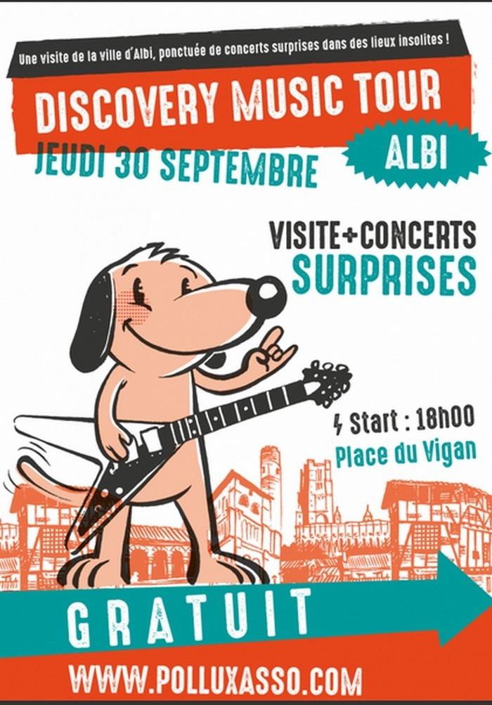 Visite guidée et concerts surprises dans la ville d'Albi