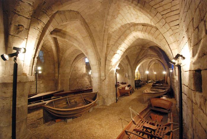 Journées du patrimoine 2019 - Visite du grand cellier du parc du prieuré