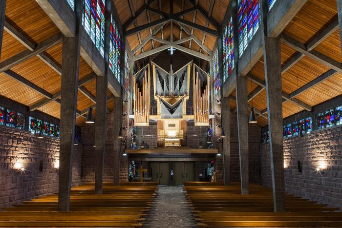 Journées du patrimoine 2020 - Visite de la chapelle et de la crypte du Collège Épiscopal Saint-Etienne