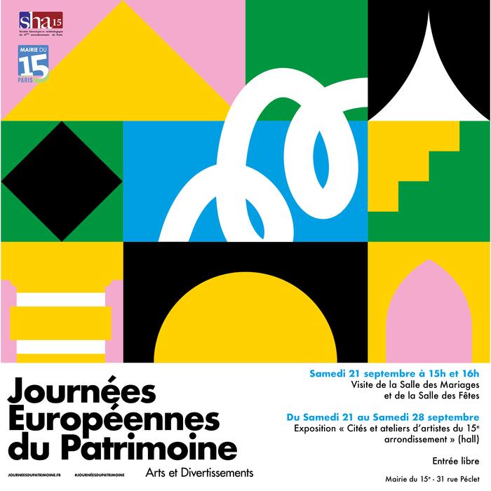 Journées du patrimoine 2019 - Exposition à la Mairie du 15e