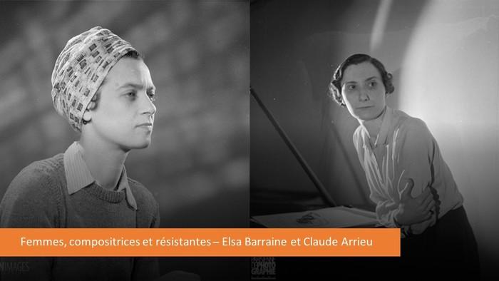 Journées du patrimoine 2020 - Conférence : Femmes, compositrices et résistantes : Elsa Barraine et Claude Arrieu