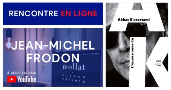 ÉVÉNEMENT EN LIGNE AVEC JEAN-MICHEL FRODON