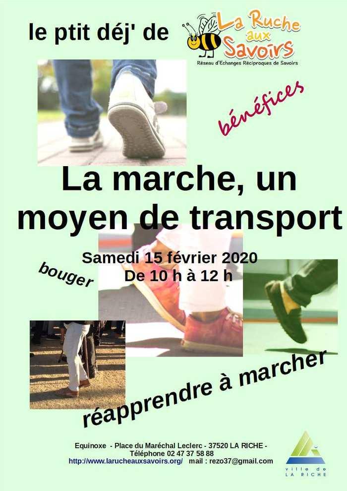 Ptit Dej de La Ruche aux Savoirs : Réapprendre à marcher