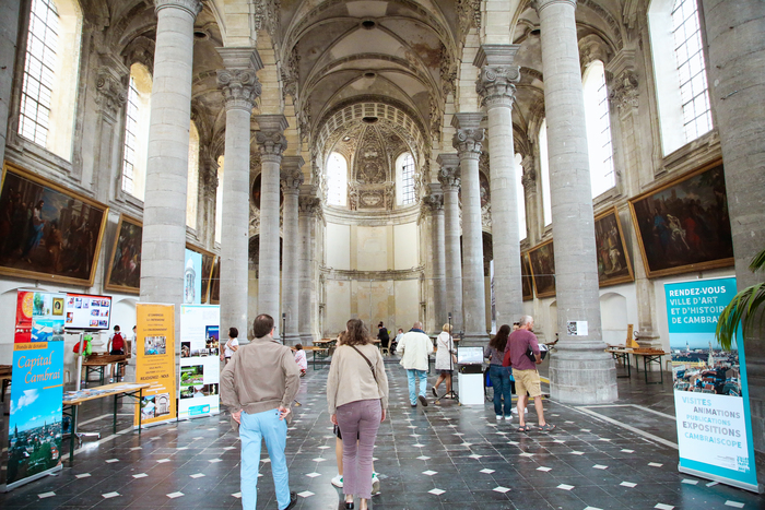 Journées du patrimoine 2020 - La chapelle des Jésuites ou La récréation
