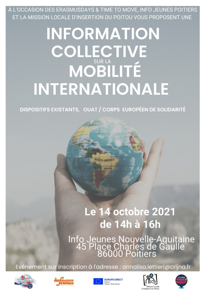 Information collective sur la mobilité internationale
