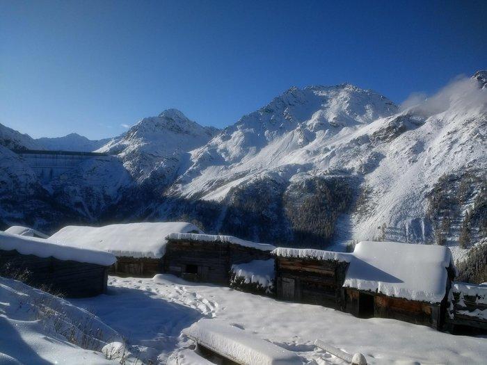 Rando-fondue sur la neige à Novelli