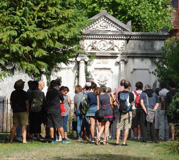 Journées du patrimoine 2020 - Visite guidée au cimetière Saint-Roch sur les artistes du XIXe siècle
