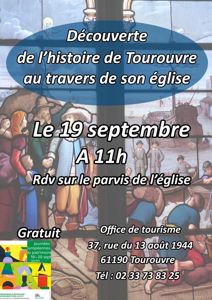 Journées du patrimoine 2020 - Visite guidée de l'église de Tourouvre