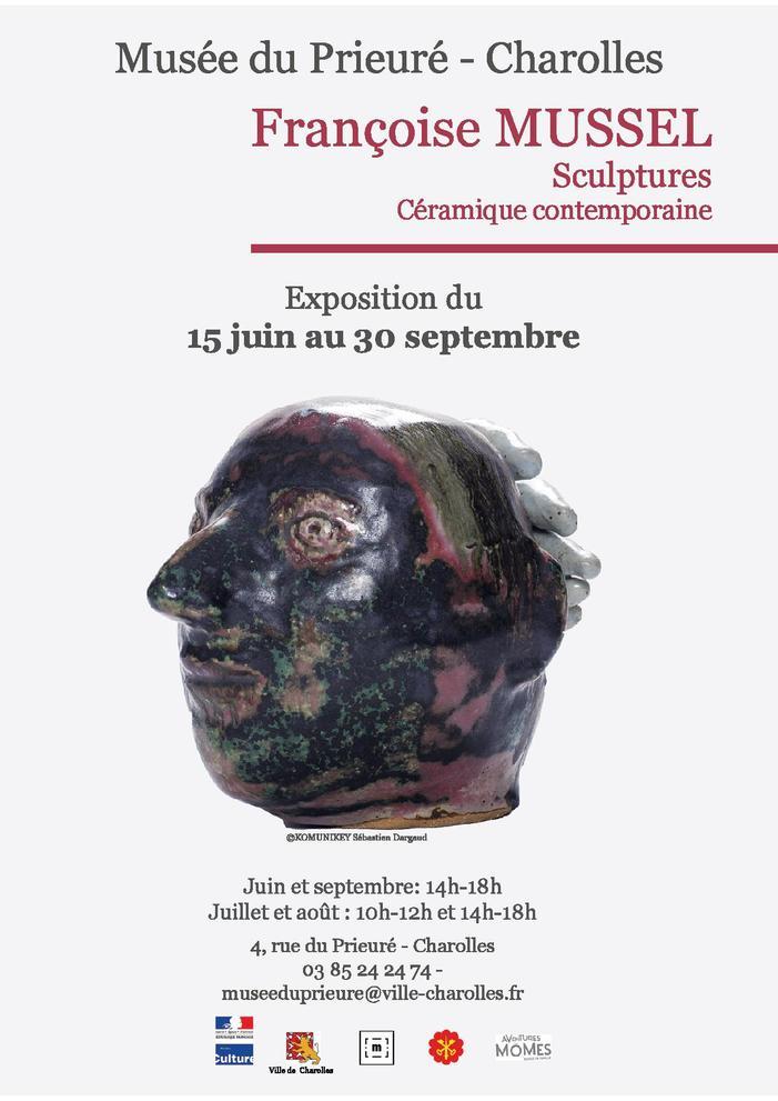 Journées du patrimoine 2019 - Exposition Françoise Mussel