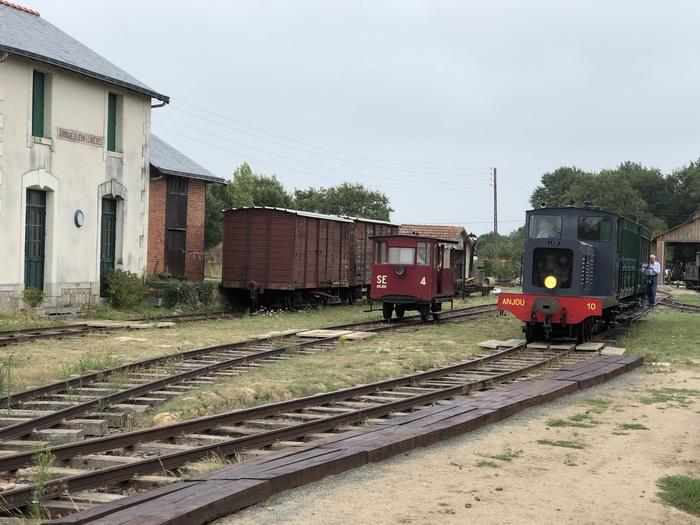 Journées du patrimoine 2019 - Le Petit Anjou en gare de La Roche à Saint Jean de Linières