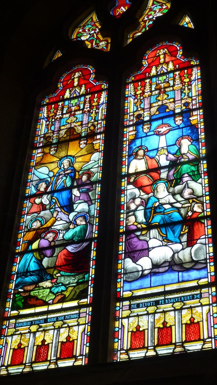 Journées du patrimoine 2019 - Visite guidée : l'église de Montournais et l'art du vitrail