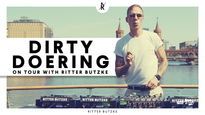 Dirty Doering on tour with Ritter Butzke | on Boat