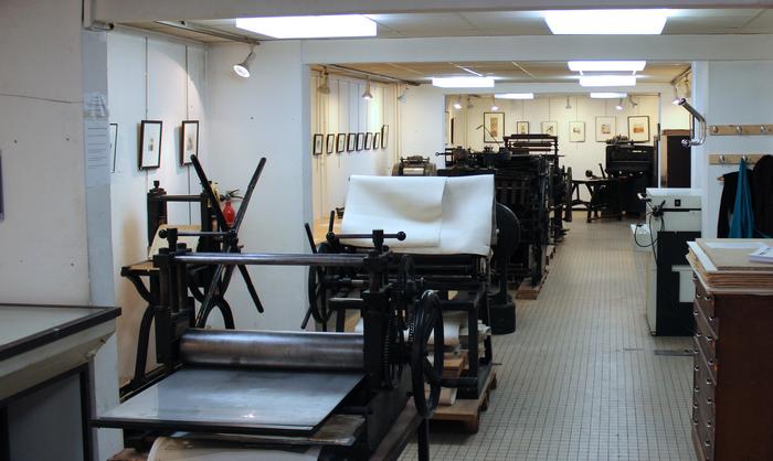 Journées du patrimoine 2020 - Visite guidée de l'atelier-musée d'art graphique d'Arcueil