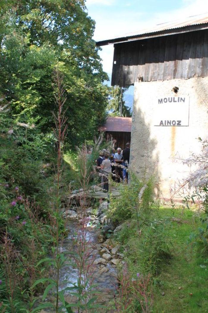 Journées du patrimoine 2019 - Visite d'un moulin datant de 1728 et d'une tournerie sur bois
