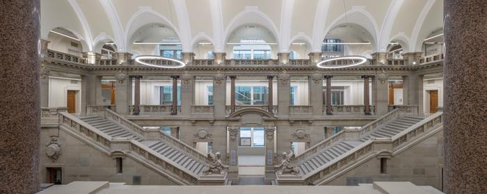 Journées du patrimoine 2019 - Visite libre du Palais de justice  - Salle des pas perdus