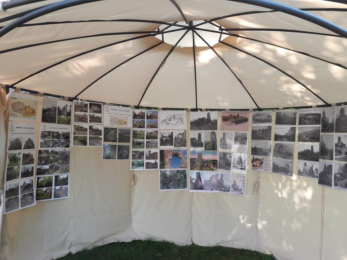 Journées du patrimoine 2019 - Exposition photos au château de Guirbaden