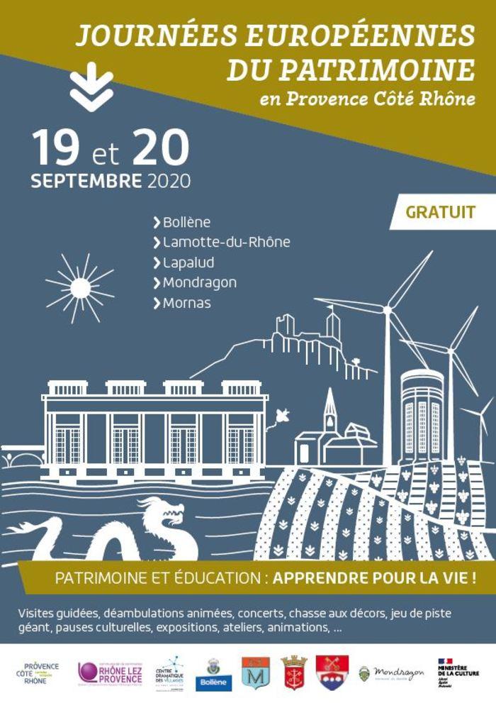 Journées du patrimoine 2020 - VISITE VIRTUELLE DE LA FORTERESSE DE MORNAS