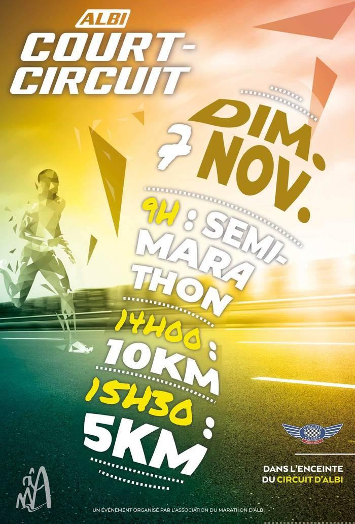 Au programme  Semi Marathon le matin. 10km et 5Km l'aprés midi