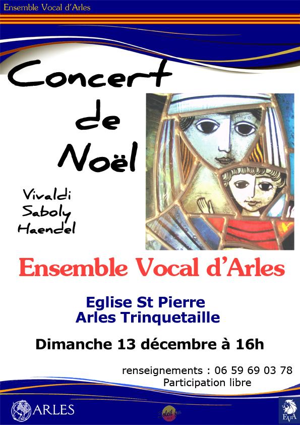 Concert de Noël à l'église St Pierre de Trinquetaille